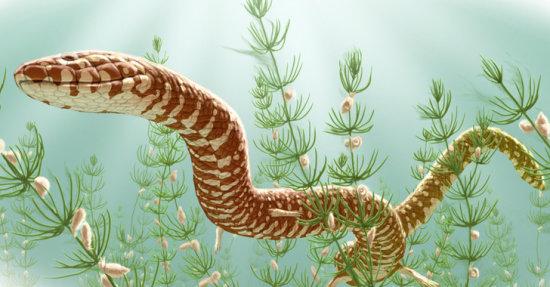 El origen de los reptiles cretacico